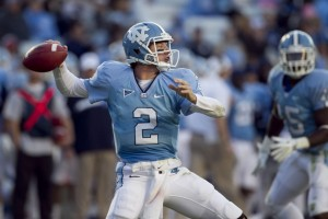 Bryn Renner, Now Settled in Larry Fedora's Offense, is Out to Break Records for North Carolina