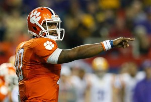 Tajh Boyd Leads Clemson Against Georgia in One of Many Nationally Televised ACC Games