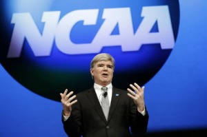 Mark Emmert NCAA 1A FBS College Football Governing Body Fundamental Changes
