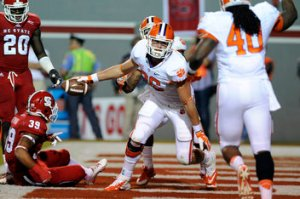 ACC Football NC State Clemson 26-14 Recap Tigers Wolfpack Tajh Boyd Undefeated