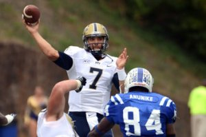 Pittsburgh Quarterback Tom Savage is the ACC Player of the Week for Week 4