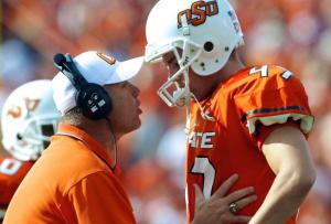 Oklahoma State Cowboys Sports Illustrated Scandal NCAA Violations Les Miles Public