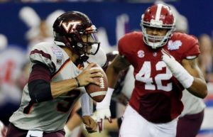 Virginia Tech Quarterback Logan Thomas is the ACC Goat of the Week for Week 1