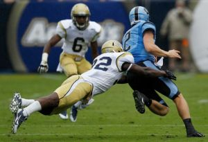North Carolina UNC Offense Georgia Tech Larry Fedora Giovani Bernard Gone