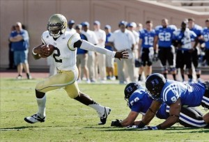 Georgia Tech Quarterback Vad Lee is the ACC Player of the Week for Week 3