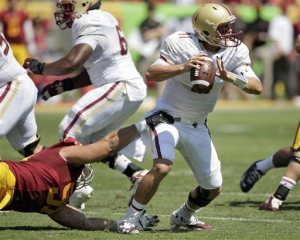 Boston College Eagles Quarterback Chase Rettig is the ACC Goat of the Week for Week 2