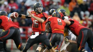 C.J. Brown Maryland Terrapins Terps ACC Football QB Play Success Failure