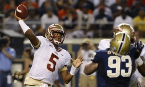 Florida State's Jameis Winston Burst Into the National Conversation After Last Night's Pitt Win