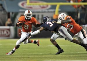 Duke Johnson Leads the 'Canes in a Tough Early Test Against the SEC's Florida Gators