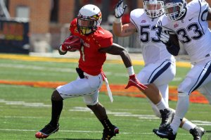 Stefon Diggs and the Maryland Terrapins Aim to Get to 4-0 This Weekend