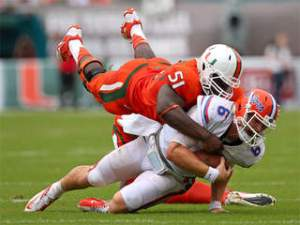 Miami Hurricanes Upset Florida Gators ACC Football Balance of Power SEC