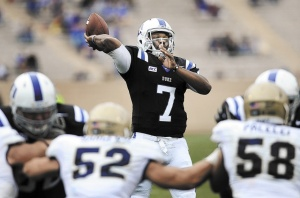 Duke Blue Devils' Quarterback Anthony Boone is the ACC Player of the Week for Week 7