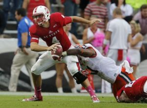 NC State Quarterback Pete Thomas is the ACC Goat of the Week for Week 7