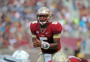 Jameis Winston Florida State Football 2013 Seminoles Heisman Trophy Spotlight Contender