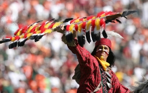 Chief Osceola Florida State Football Seminoles Nation Tallahassee Controversy Redskins