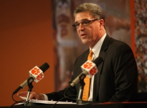 Dan Radakovich Clemson Athletic director AD College Football Playoff Committee