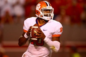 Tajh Boyd Clemson Tigers ACC Football 2013 Florida State College Gameday ESPN Primetime